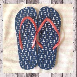 "Shoes - 🆕 ""Anchors Away!"" Flip Flops ⚓️"